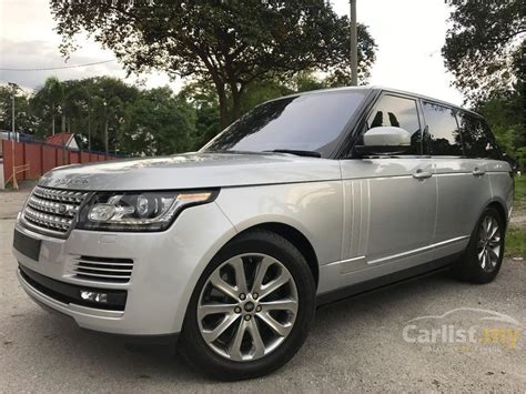 range rover silver 2016 land rover range rover 2016 supercharged vogue 5 0 in