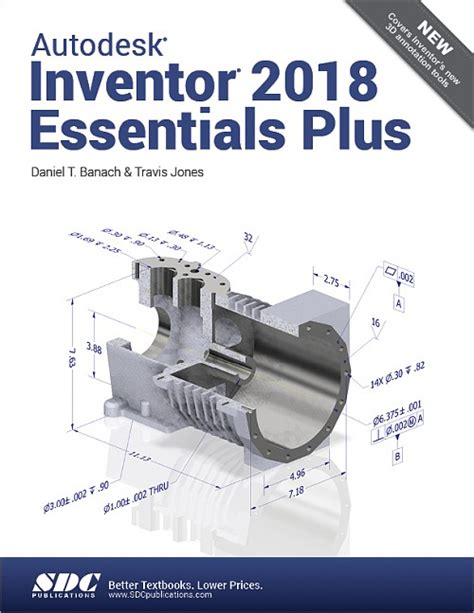 learn autodesk inventor 2018 basics 3d modeling 2d graphics and assembly design books autodesk inventor 2018 essentials plus book isbn 978 1