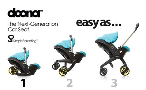 an infant car seat that turns into a pram genius