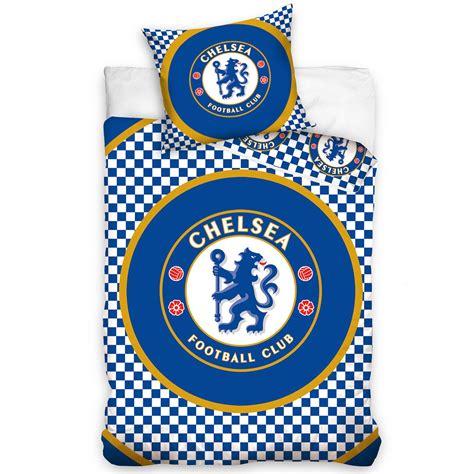 chelsea bedlinen chelsea fc single and double duvet cover sets bedding