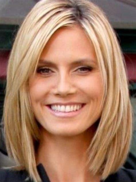 medium length haircuts for moms classy medium blonde bob medium length haircuts for thick