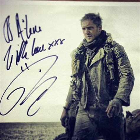 tom hardy gives mad max click on the poster to enlarge