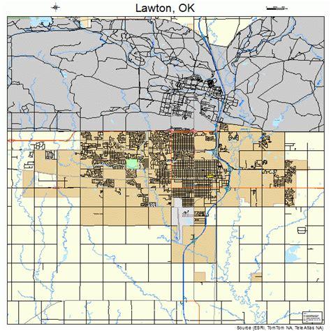 Lawton Ok Search Lawton Oklahoma Map 4041850