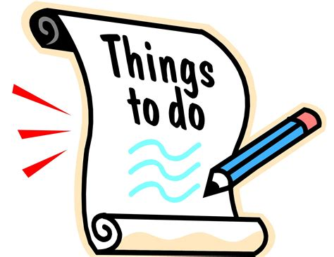 things to do for to do list archives