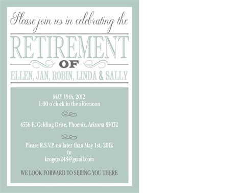 retirement lunch invitation template 17 best images about retirement my quot seasoned