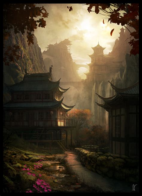 mountain serenity  andreewallin  deviantart