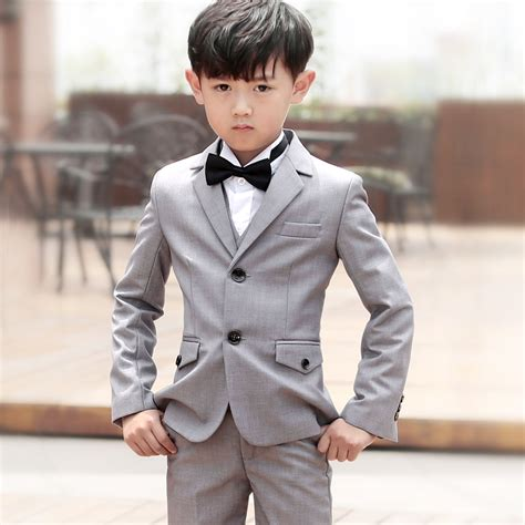 Jacket Anak Kecil Guess wedding suit boys jackets shirt bow tie blazer tuxedo boy boy suit for