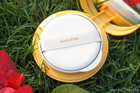 innisfree customizable foundation water fit cushion n23 spf 34 pa sweet and bitter
