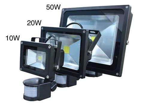 led security flood light motion sensor led security flood light oznium