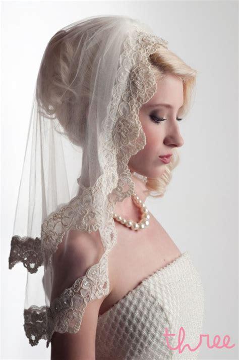 Handmade Veils - handmade bridal veils vintage retro style