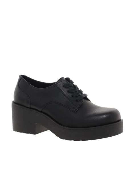 shellys shellys harant platform lace up shoes at asos