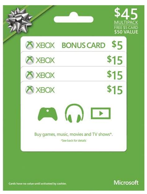 Best Buy 50 Dollar Gift Card - 50 xbox live gift card just 40 50 coupon connections