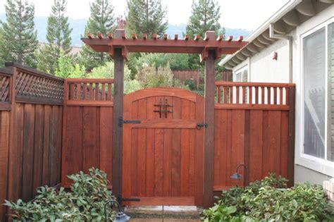 livermore wrought iron gates wooden fence gates