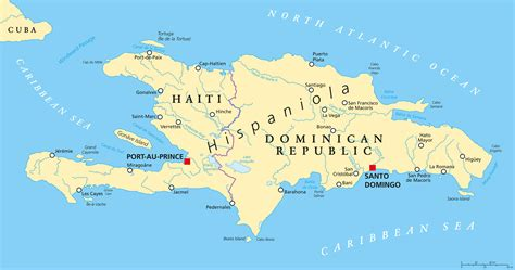 map of haiti haiti map
