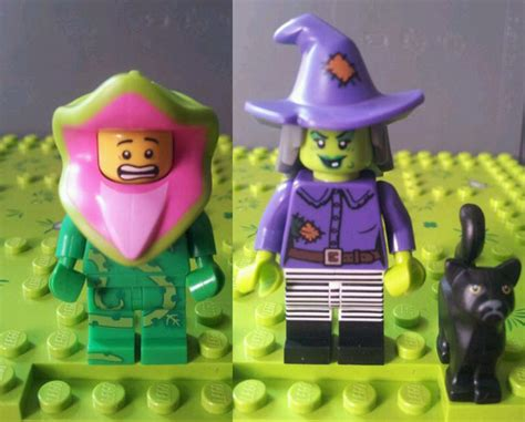 Legominifigures Series 14 Plant lego collectible minifigures series 14 71010 leaked images