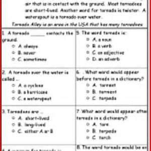 reading comprehension worksheets kindergarten pdf 1000