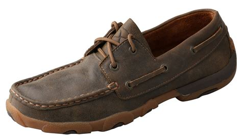 twisted x shoes for s twisted x shoes bomber boat shoe wood s boots