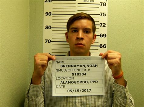 New Mexico State Court Records Noah Josiah Brennaman Inmate 518304 New Mexico Doc Prisoner Arrest Record