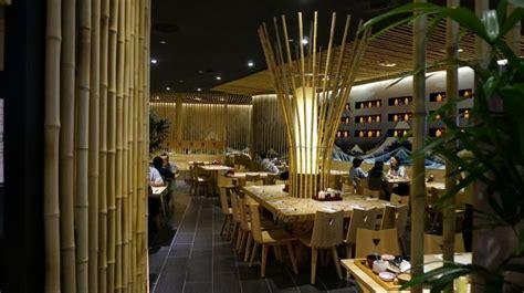 design interior cafe dari bambu inspirasi restoran bambu desain modern dari bahan ramah