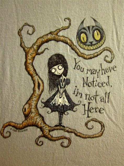 cheshire cat youth lrg t shirt goth alice wonderland