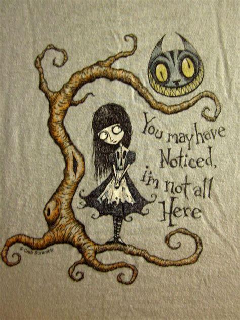 cheshire cat youth lrg t shirt goth alice wonderland
