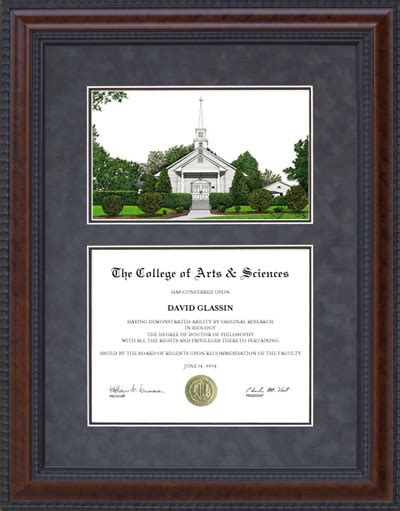 Liberty Mba Diploma Frame by Diploma Frame With Licensed Liberty Cus