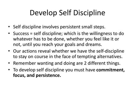 self discipline master self discipline and develop the mental toughness of a us navy seal in 30 days how to build self confidence maintain motivation and achieve all of your goals books ppt mastering self management powerpoint presentation