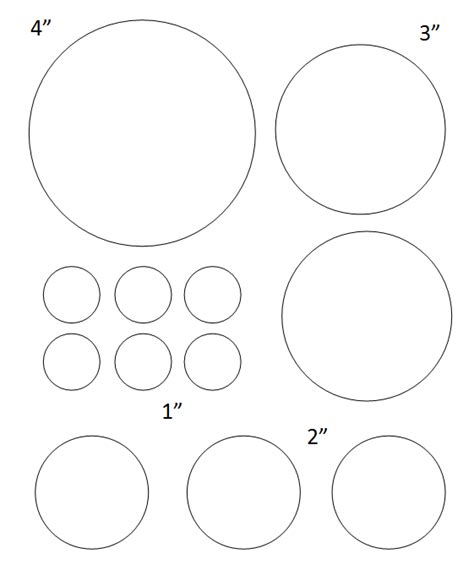 2 inch circle template free printable circle templates large and small stencils