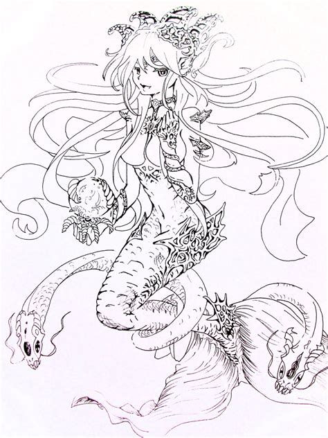 realistic mermaid coloring coloring pages coloring pages