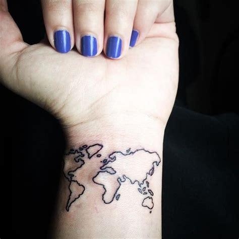 world map tattoo wrist world on wrist designs ideas and meaning tattoos