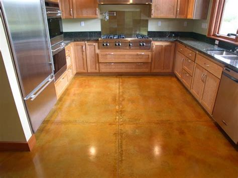 Concrete Kitchen Floor 5 Kitchen Flooring Options You Can Modern Kitchens