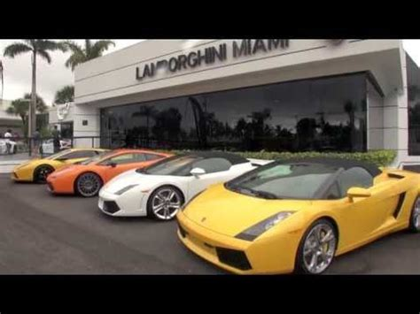lamborghini showroom lamborghini miami showroom youtube