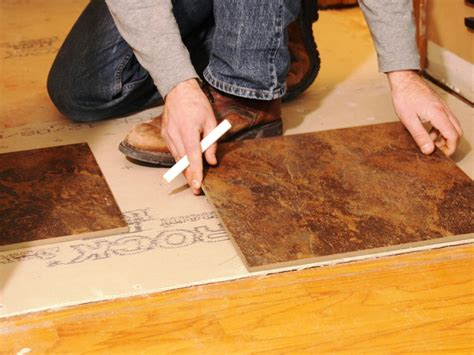 Laying Flooring by Laying A New Tile Floor How Tos Diy