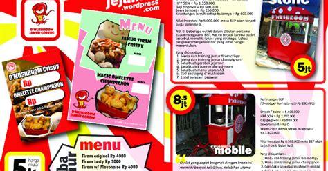 desain brosur bazar contoh brosur bazar makanan contoh m