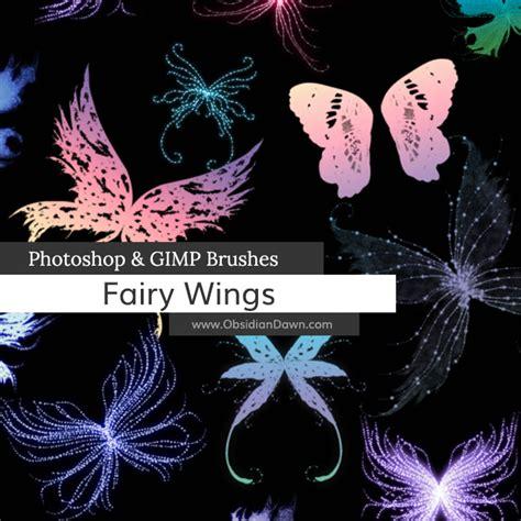 tutorial photoshop gimp fairy wings photoshop gimp brushes obsidian dawn