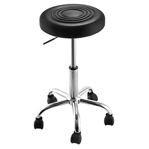 Super Buy Black Adjustable Rolling Bar Stools Swivel Hydraulic Chair Stool Facial Massage | super buy black adjustable rolling bar stools swivel
