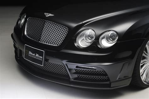 bentley continental flying spur black wald bentley continental flying spur black bison edition