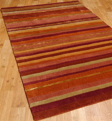 simple stripe rugs are sophisticated