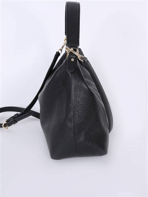 Coach Celeste coach celeste east west leather hobo bag black luxury bags