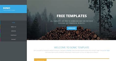 weaver template 30 free dreamweaver templates designscrazed