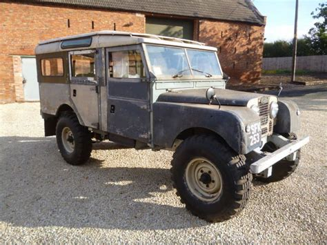 1957 series 1 land rover 107 quot station wagon galvanised