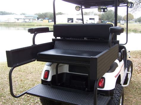 golf cart rear seats used golf cart rear seat the best cart