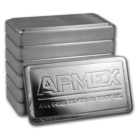 10 oz silver bar at spot buy 10 oz silver bars for sale stackable silver bar