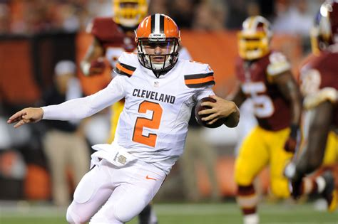 manziel benched 100 manziel benched cleveland browns coach hue