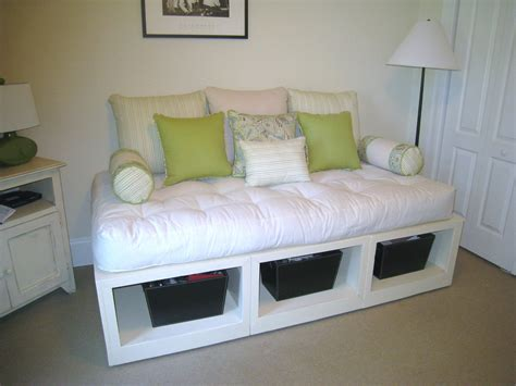 day bed with storage ana white storage day bed diy projects