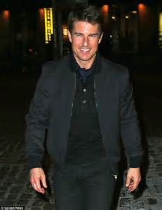 Cruise Wed In Los Angeles Last Week by Tom Cruise Looks Ready To Mingle In All Black As He Heads