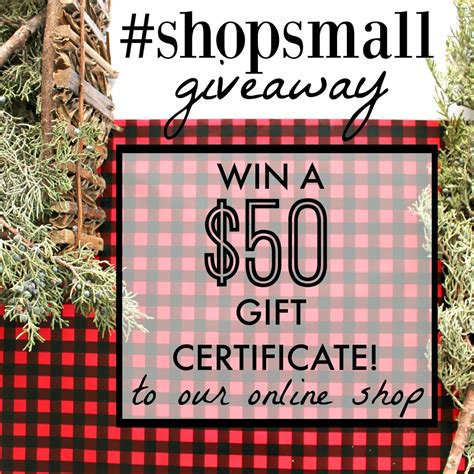 Small Business Giveaways - small business saturday coupons giveaways miss molly vintage