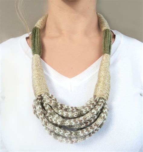 17 best ideas about knitted jewelry on