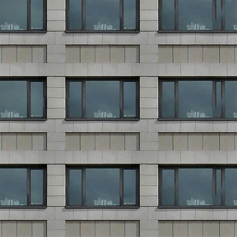 Gray Wall texture residential building seamless 00777