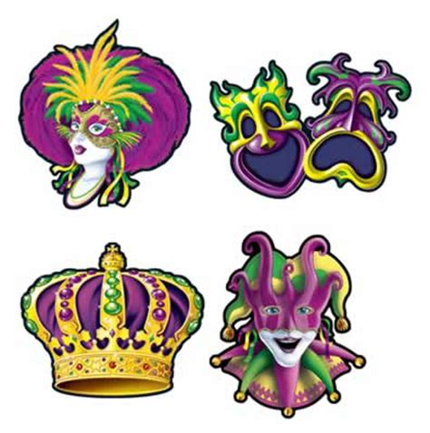 buy new mardi gras cutouts caufields com